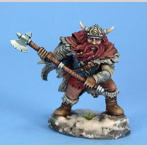 Male Dwarven Fighter w/ Great Axe