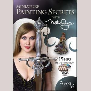 Alexi Z: Miniature Painting Secrets (4 DVD Set)