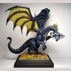 Large Black Dragon (All Metal Kit)
