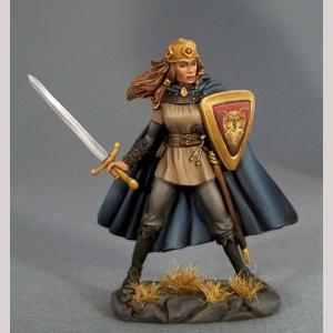 Female Fighter with Long Sword