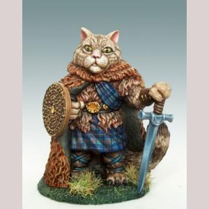 Scottish Wildcat Warrior