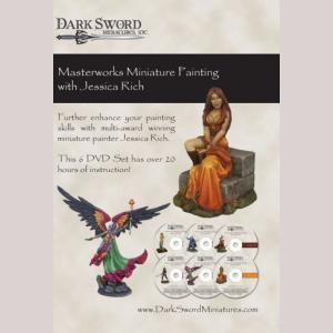 Jessica Rich Masterworks Miniatures Painting, 6 DVD SET