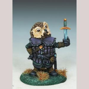 Hedgehog Thief with Dagger