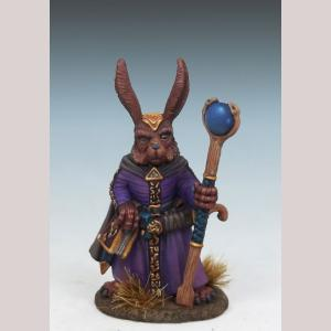 Rabbit Mage with Staff