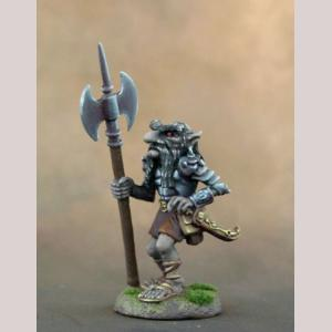 Dark Dwarf Warrior with Axe