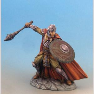 Cleric with 3 Weapon Options & Shield - Mace, Sword and Axe