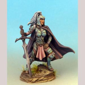 Female Warrior with Two Handed Sword