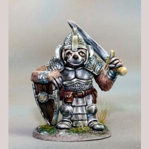 Sloth Paladin with Sword & Shield